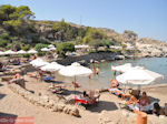 The gezellige beach of Kalithea Rhodes - Photo JustGreece.com