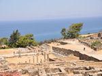 JustGreece.com Kamiros (Rhodes), deze ruins stammen uit the Hellenistische tijd - Foto van JustGreece.com