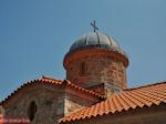 The koepel of the Church of Osios David near Rovies - Foto van JustGreece.com