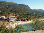 Een of the Beaches of Paleokastritsa  the klooster - Photo JustGreece.com