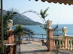 Taverna at the beach of Agios Georgios Corfu - Photo JustGreece.com