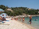 The pebble beach Kalami - Corfu - Photo JustGreece.com