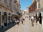 Shopping Street Corfu town - Photo JustGreece.com