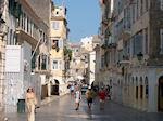 Shopping street Corfu town - Photo JustGreece.com