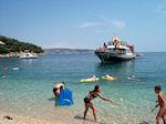 Bootjes at The bay of Kalami - Corfu - Photo JustGreece.com