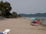 The Sandy beach of Lefkimmi (Corfu) - Photo JustGreece.com