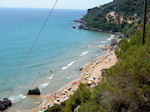 The Mirtiotissa beach on Corfu - Photo JustGreece.com