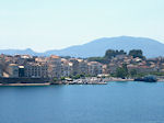 Corfu town from zee - Photo JustGreece.com