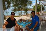 Koumbara Beach bar Ios town - Island of Ios - Cyclades Photo 427 - Photo JustGreece.com