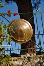 JustGreece.com Spartan shield in Sparti | Lakonia Peloponessos - Foto van JustGreece.com