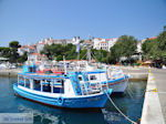 Bootjes at the small harbour of Skiathos-stad - Photo JustGreece.com