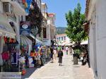 Shopping street Papadiamantis in Skiathos town Photo 4 - Foto van JustGreece.com