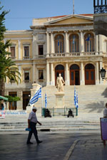 Miaoulis-square Ermoupolis | Syros | Greece Photo 165 - Photo JustGreece.com