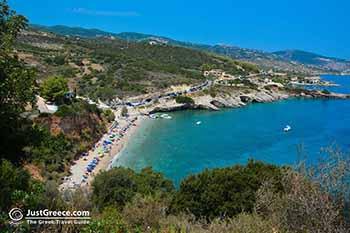 Makris Gialos near Xingia (Xigkia) Zakynthos - Ionian Islands -  Photo 1 - Foto van JustGreece.com