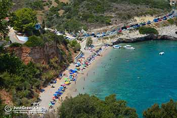 Makris Gialos near Xingia (Xigkia) Zakynthos - Ionian Islands -  Photo 3 - Foto van JustGreece.com
