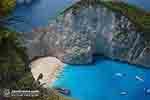 Shipwreck - Navagio Zakynthos - Ionian Islands -  Photo 18 - Photo JustGreece.com